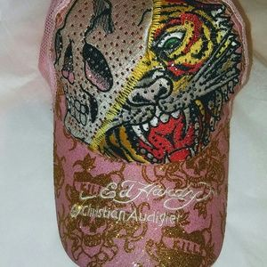 Accessories - ED HARDY PINK CAP